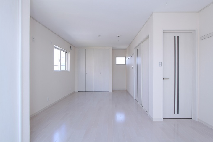 真っ白な家