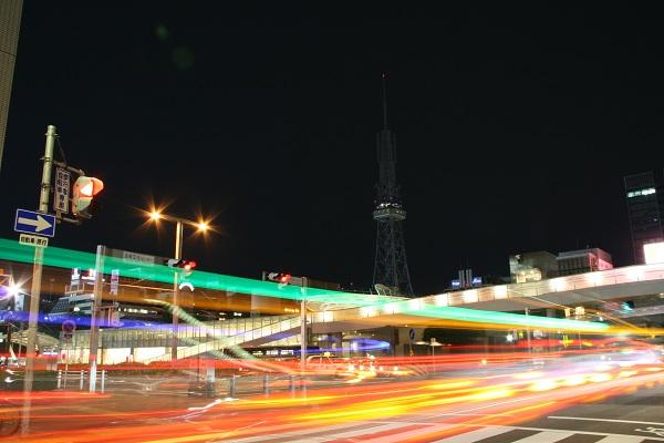 夜景撮影のシャッタースピード