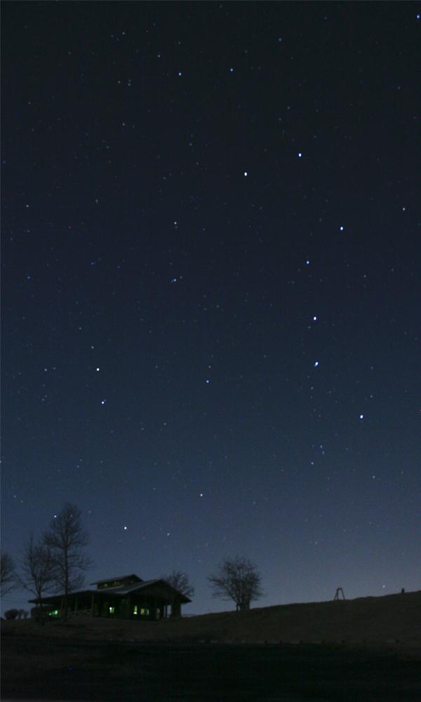 星空の撮影
